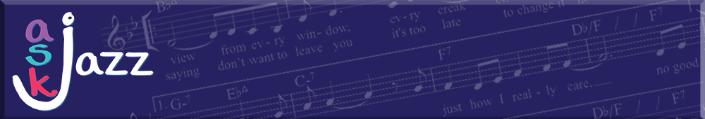 Ask Jazz Banner